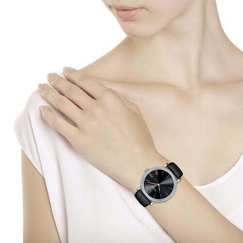Женские серебряные часы (153.30.00.001.04.01.2) - фото №3