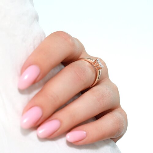 Кольцо из золота с бриллиантами 1011846 SOKOLOV фото 3