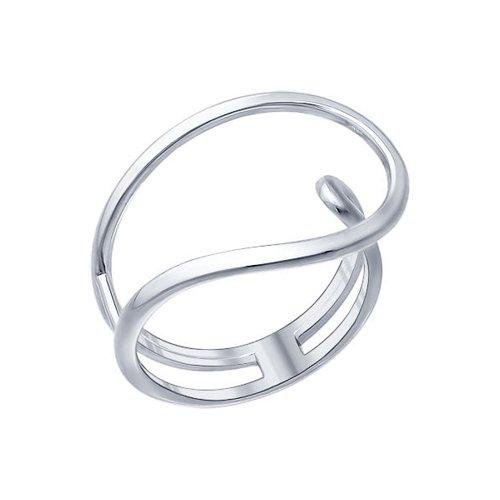 Кольцо из серебра (94011356) - фото