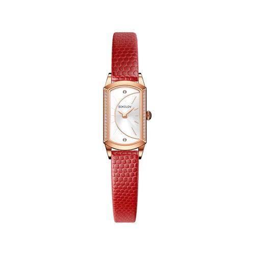 Женские золотые часы (222.01.00.001.04.04.3) - фото №2