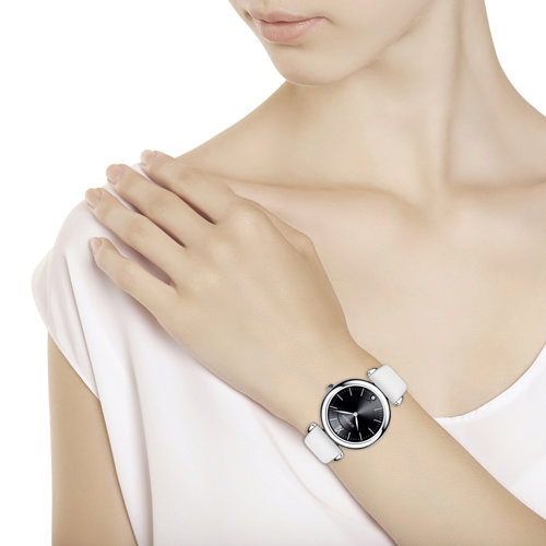 Женские серебряные часы (105.30.00.000.02.02.2) - фото №3