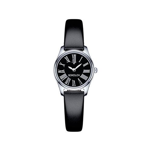 Женские серебряные часы (155.30.00.000.02.01.2) - фото №2