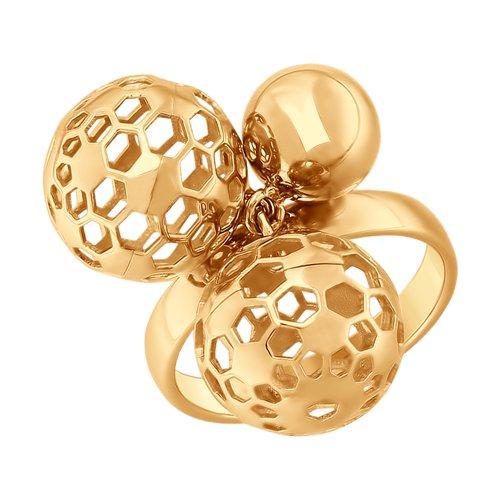Кольцо из золота (017711) - фото