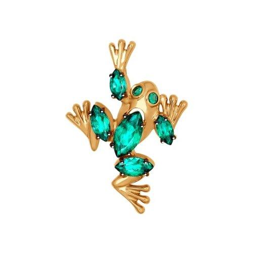 Подвеска «Лягушка» из золота