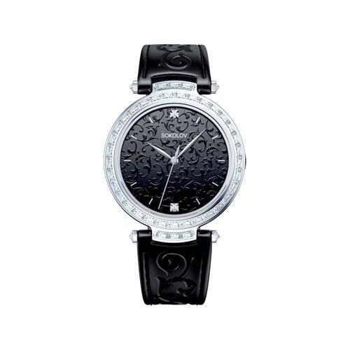 Женские серебряные часы (147.30.00.001.02.01.2) - фото №2