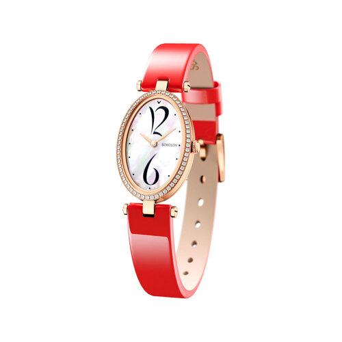 Женские золотые часы (236.01.00.100.05.06.2) - фото