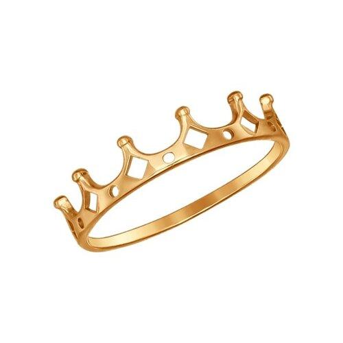 Кольцо-корона SOKOLOV из золота без вставок
