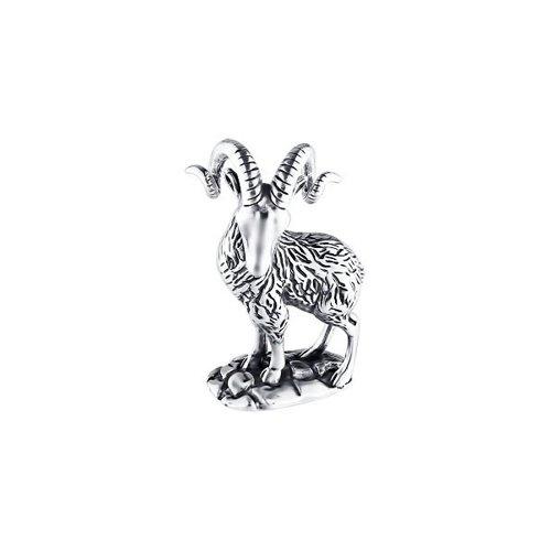 Сувенирная продукция знак зодиака из чернёного серебра