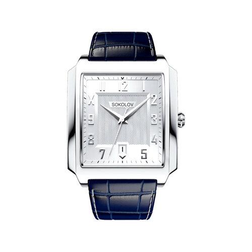 Мужские серебряные часы (134.30.00.000.03.02.3) - фото №2