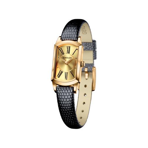 Женские золотые часы (221.02.00.000.02.01.3) - фото