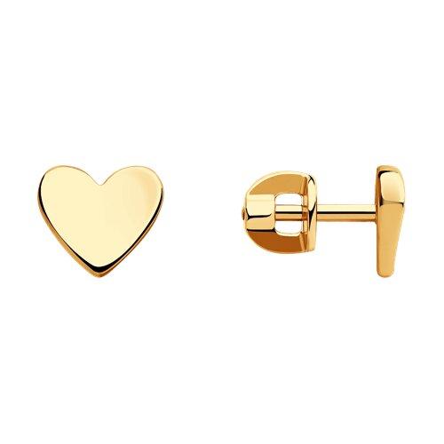 Серьги из золота (028252) - фото