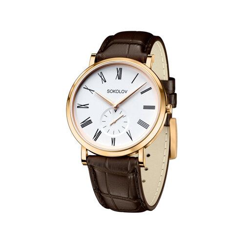 Мужские золотые часы (209.02.00.000.01.02.3) - фото