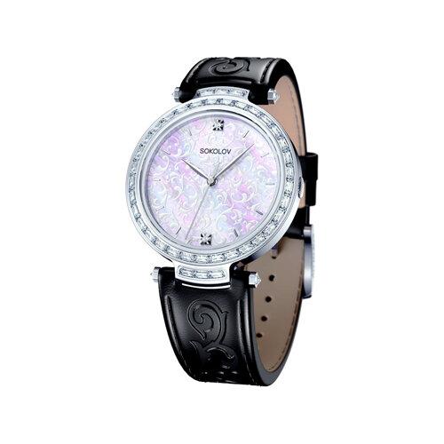 Женские серебряные часы (147.30.00.001.01.01.2) - фото