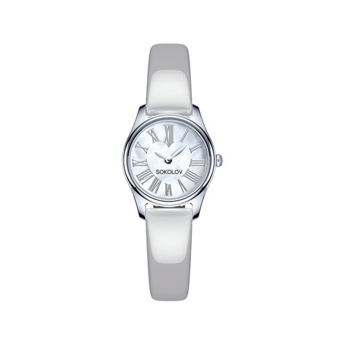 Женские серебряные часы (155.30.00.000.01.04.2) - фото №2