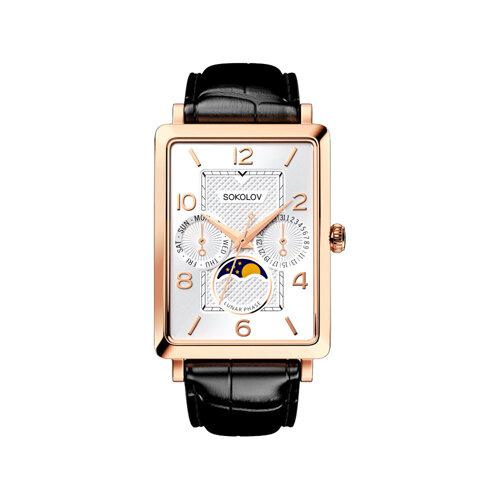 Мужские золотые часы (233.01.00.000.05.01.3) - фото №2