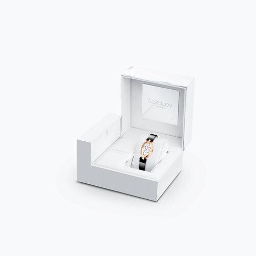 Женские золотые часы (235.01.00.000.03.04.2) - фото №4