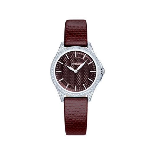 Женские серебряные часы (137.30.00.001.08.05.2) - фото №2