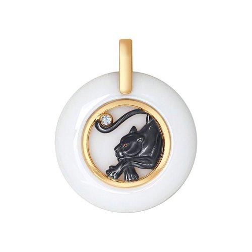 Керамическая подвеска «Пантера» SOKOLOV