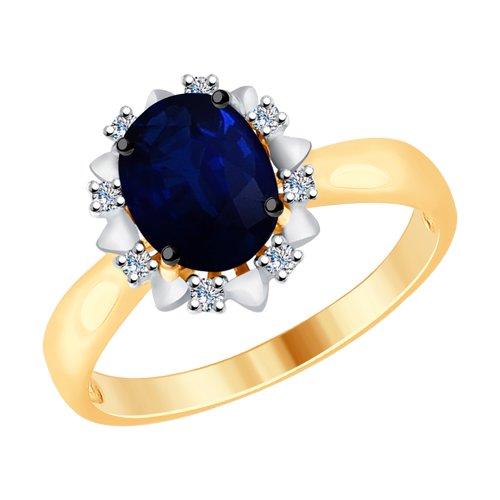 Кольцо из золота (2011072) - фото