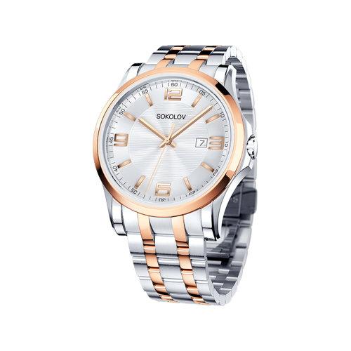 Мужские стальные часы (301.76.00.000.04.02.3) - фото