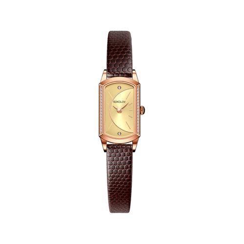 Женские золотые часы (222.01.00.100.05.03.3) - фото №2