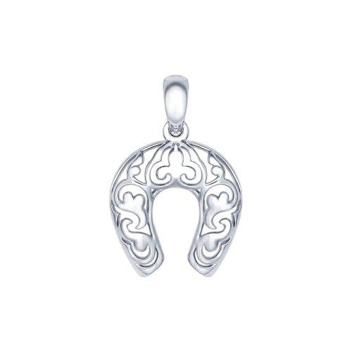 Подвеска «Подкова» из серебра