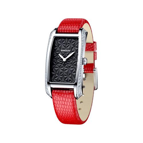 Женские серебряные часы (119.30.00.001.04.03.2) - фото