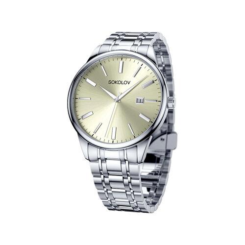 Мужские стальные часы (313.71.00.000.04.01.3) - фото