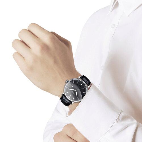 Мужские серебряные часы (101.30.00.000.05.01.3) - фото №3