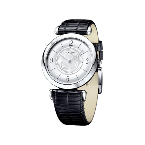 Женские серебряные часы (105.30.00.000.03.01.2) - фото