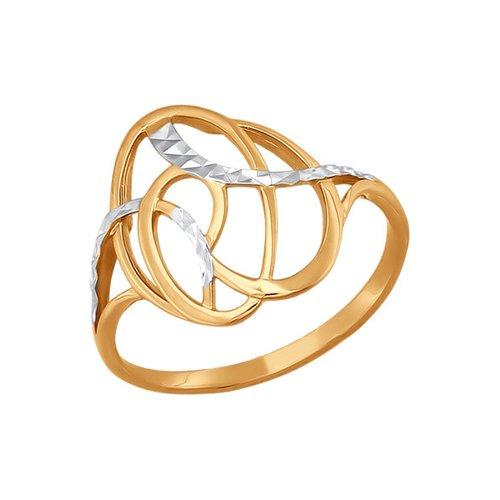 Фото - Кольцо SOKOLOV из золота линии с алмазной гранью кольцо sokolov из золота линии с алмазной гранью
