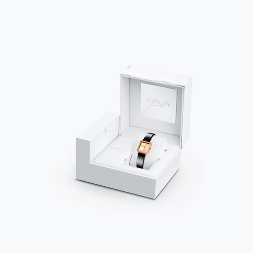 Женские золотые часы (232.01.00.100.06.04.2) - фото №4