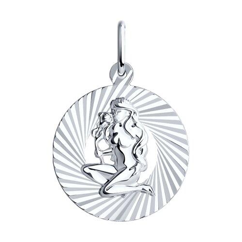 Подвеска «Знак зодиака Дева» из серебра (94030887) - фото