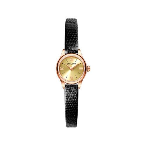 Женские золотые часы (211.01.00.000.02.01.3) - фото №2