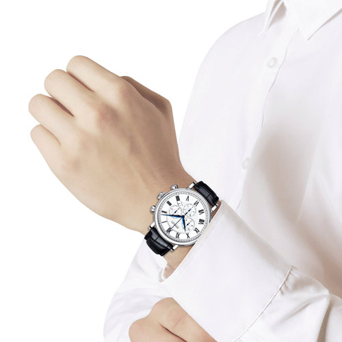 Мужские серебряные часы (125.30.00.000.01.01.3) - фото №3