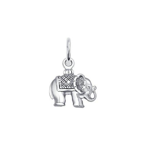 Подвеска из серебра «Слон»