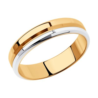 Купить Обручальное кольцо из серебра