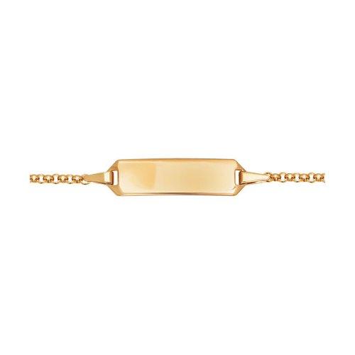 Классический браслет SOKOLOV из золота браслет классика 12 сардоникс