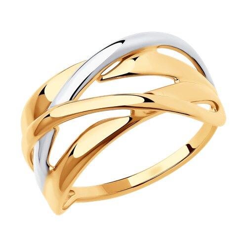 Кольцо из золота (018410) - фото