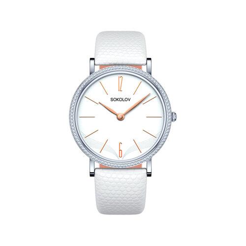 Женские серебряные часы (153.30.00.001.05.02.2) - фото №2