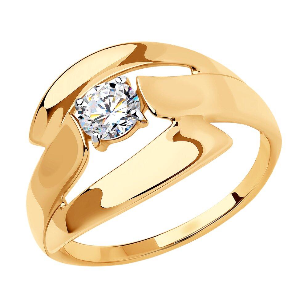 Кольцо SOKOLOV из золота фото