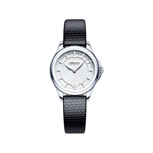 Женские серебряные часы (136.30.00.000.05.01.2) - фото №2