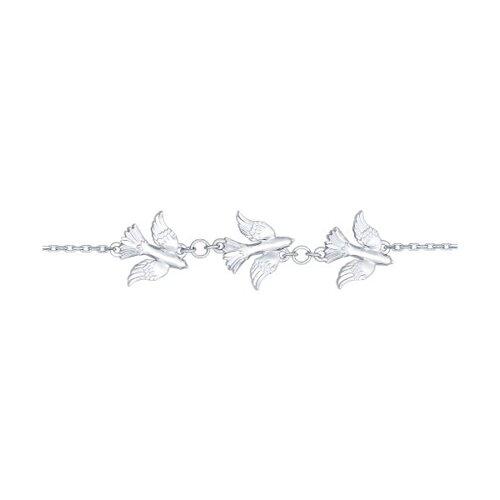 Браслет из серебра (94050353) - фото
