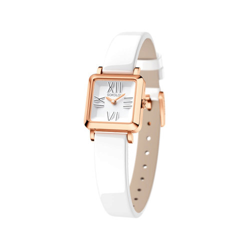 Женские золотые часы (231.01.00.000.01.05.2) - фото