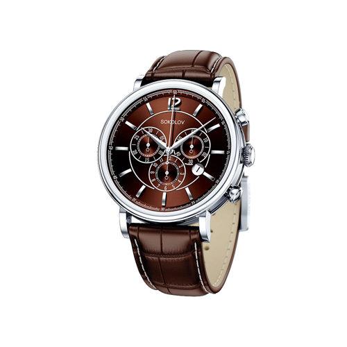 Мужские серебряные часы (125.30.00.000.06.02.3) - фото