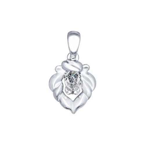 Кулон из серебра «Знак зодиака Лев» цена