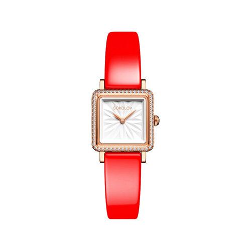Женские золотые часы (232.01.00.001.03.06.2) - фото №2
