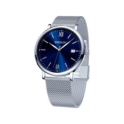 Мужские стальные часы (310.71.00.000.02.01.3) - фото