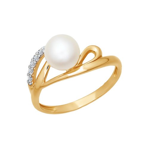 Женское кольцо с жемчугом SOKOLOV все цены