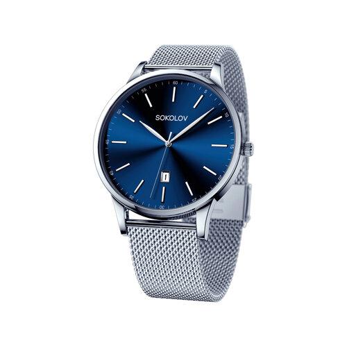 Мужские стальные часы (311.71.00.000.03.01.3) - фото